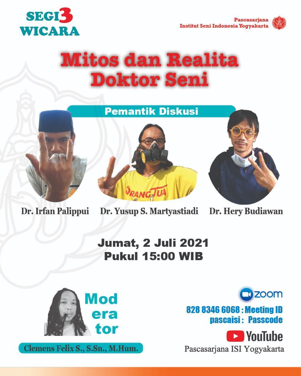 Pengalaman Sekolah Doktoral di ISI Yogyakarta? Bagaimana Pengalaman Mereka?